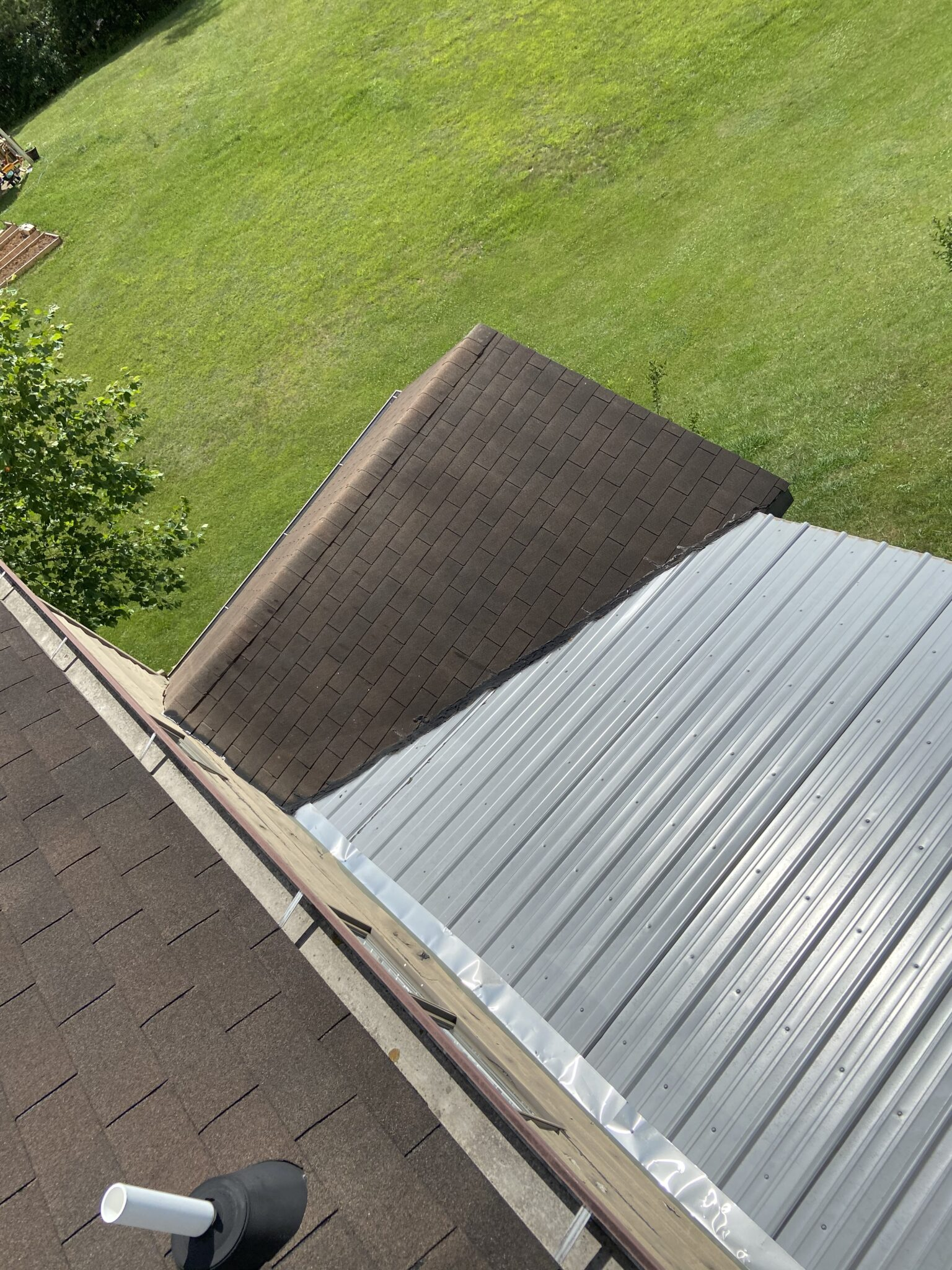 Metal Roof Addition