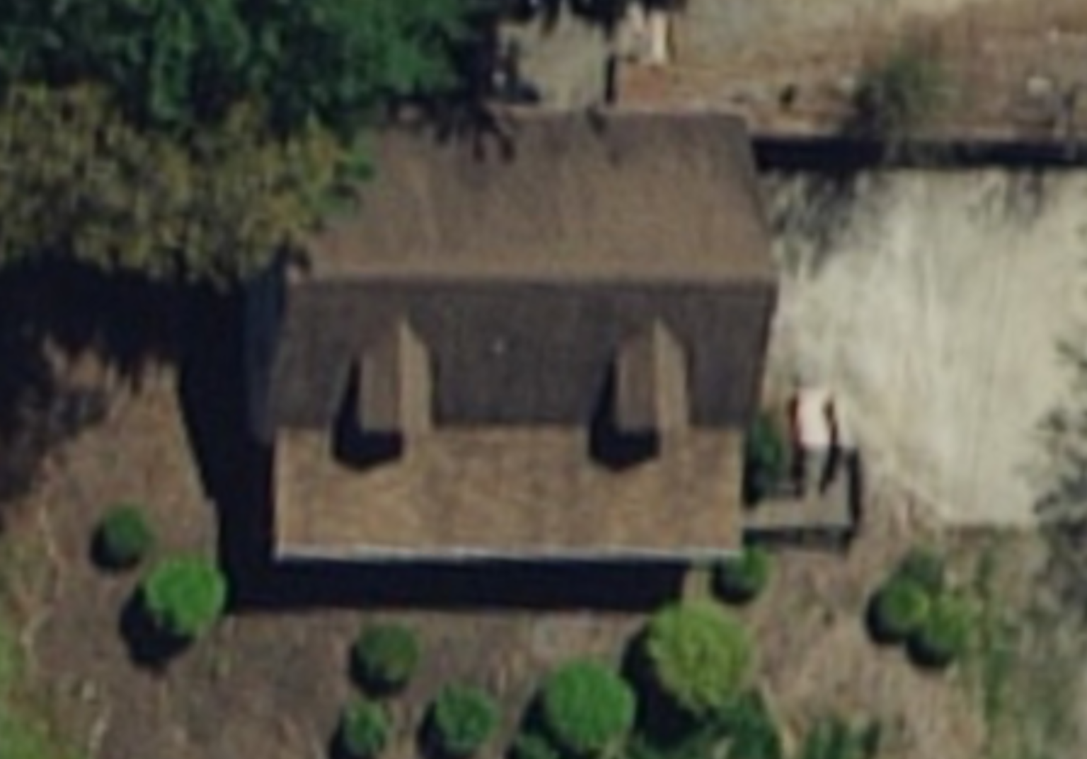 Aerial Image of Roof Replacement