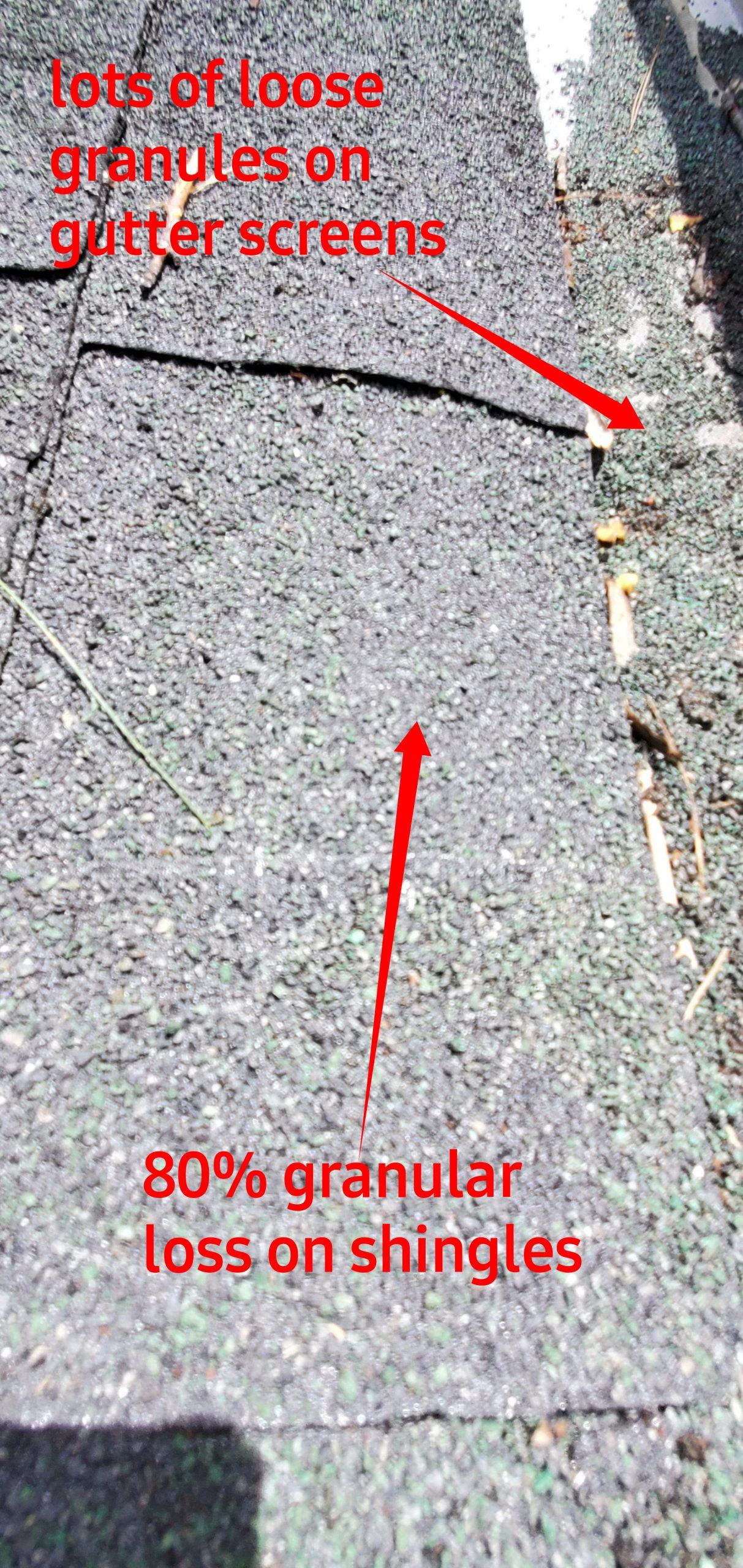 More signs of extreme granular loss
